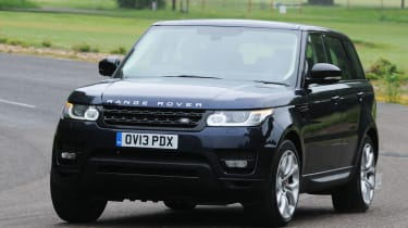 Range Rover Sport SDV6 front cornering