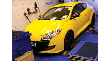 Superchips Renaultsport Megan rolling road