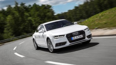 Audi A7 Ultra action