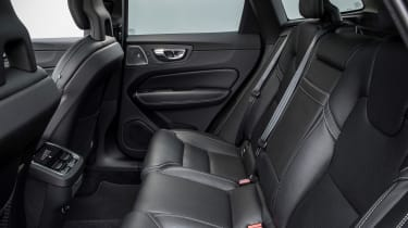 New Volvo XC60 review - rear seats