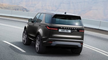 New Land Rover Discovery - rear