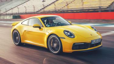 Porsche 911 - front action