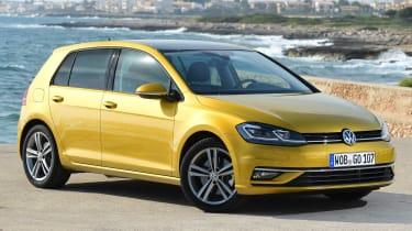 Volkswagen Golf 2017 facelift 1.5 TSI EVO - front quarter