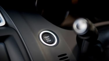 Jaguar E-Pace - start/stop button
