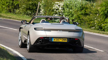 Aston Martin DB11 Volante - rear action