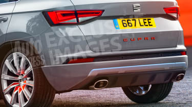 SEAT Ateca Cupra - exclusive pictures rear detail