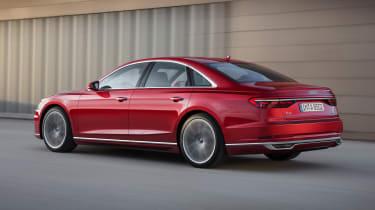 New Audi A8 - rear
