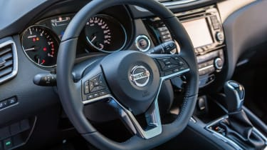 New Nissan Qashqai 2017 review steering wheel