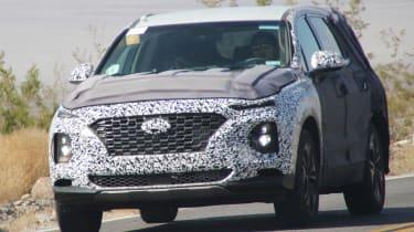 Hyundai Santa Fe spy shot front