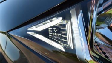 SEAT Ibiza light badge