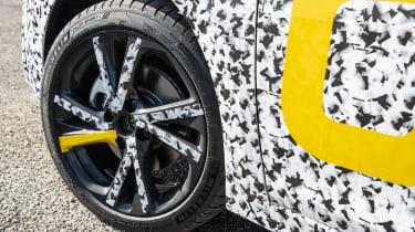 Vauxhall Corsa prototype - wheel