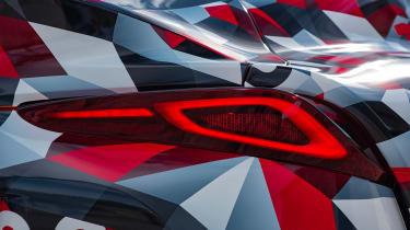 Toyota Supra prototype - rear light