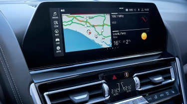 BMW 8 Series Convertible - infotainment