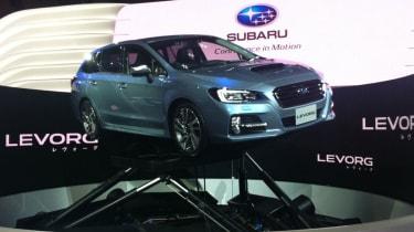 Subaru Levorg concept front