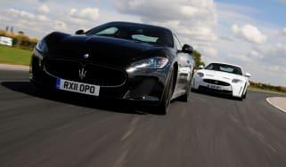 Maserati GranTurismo MC Stradale vs Jaguar XKR-S Coupe