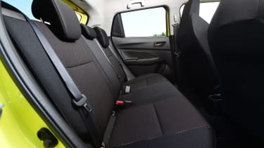 Suzuki Swift Sport - rear seats