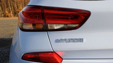Hyundai i30 N - tail light