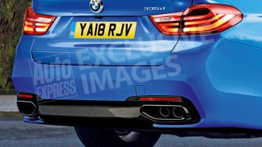 BMW 3 Series - rear detail (watermarked)