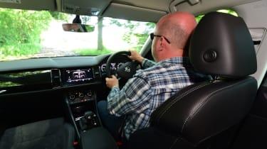 Skoda Kodiaq - driving