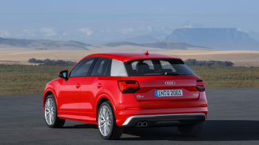Audi Q2 Red rear static