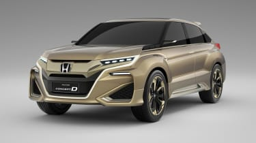 This is Honda's China-only Concept D SUV
