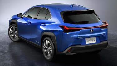 Lexus UX 300e - rear studio