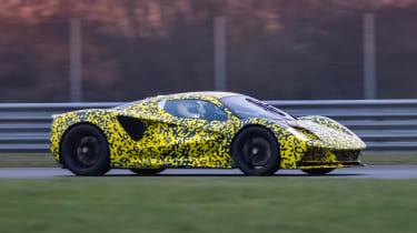 Lotus Evija - front testing
