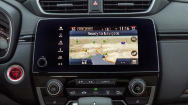 New Honda CR-V - sat-nav