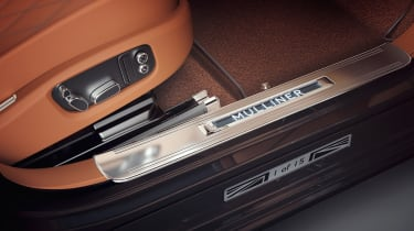 Bentley Mulsanne Extended Wheelbase Limited Edition - door sill