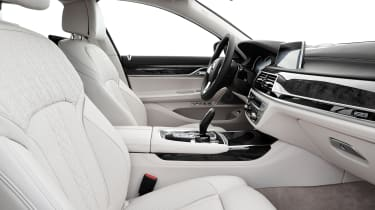New 2015 BMW 7-Series cabin side