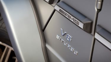 Mercedes G63 AMG detail