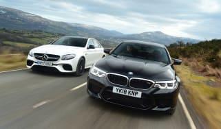 BMW M5 vs Mercedes-AMG E 63 S - header