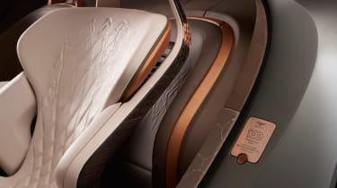 Bentley EXP 100 GT concept - seat detail