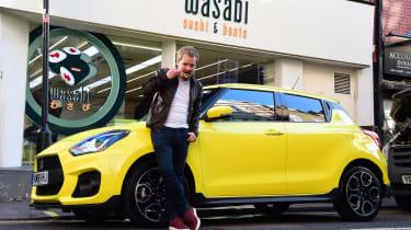 Suzuki Swift Sport - final report header