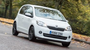 Skoda Citigo Black Edition front