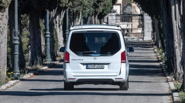 Mercedes V-Class Marco Polo - full rear