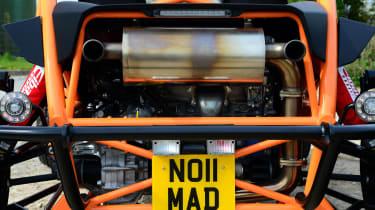 Ariel Nomad - engine
