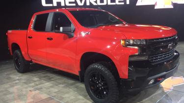 Detroit Motor Show - Chevrolet Silverado LT Trailboss
