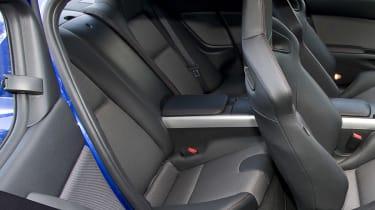 Mazda RX-8 coupe rear seats