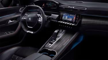 Peugeot 508 leaked - cabin
