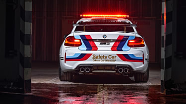 BMW M2 safety car rear