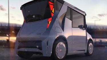 REDS EV - rear