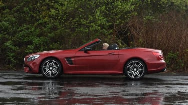 Used Mercedes SL - side