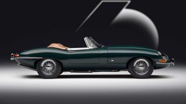 Jaguar E-Type 60 Collection - roadster side