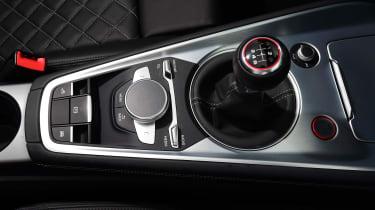 Audi TTS Roadster 2016 - centre console