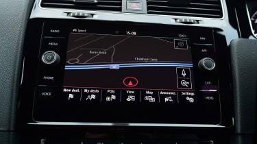 VW Golf GTI - sat-nav
