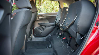 Honda Jazz - rear seats folded