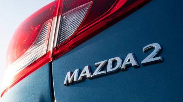 Mazda 2 - Mazda 2 badge