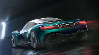 Aston Martin Vanquish Vision concept - rear