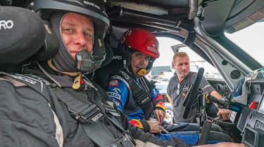Dakar Rally - Hugo Griffiths